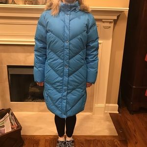 Lands' End, Warm, Rare Color, Goose Down Coat